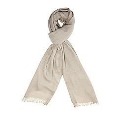 Dorothy Perkins - Neutral glitter plain scarf