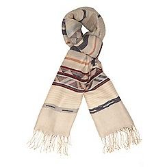 Dorothy Perkins - Ecru navaho blanket scarf
