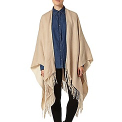 Dorothy Perkins - Oat double sided cape