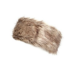 Dorothy Perkins - Mink fur headband