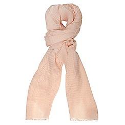 Dorothy Perkins - Blush acrylic plain scarf