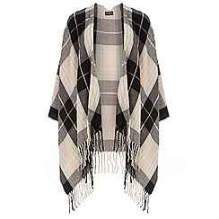 Dorothy Perkins - Blush and black check cape