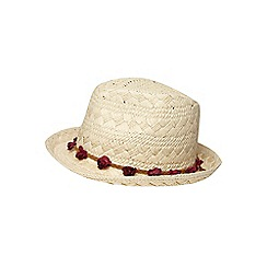 Dorothy Perkins - New flower band trilby hat