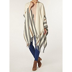 Dorothy Perkins - Neutal double sided cape