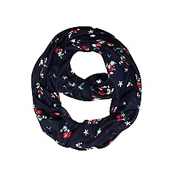 Dorothy Perkins - Navy cherry floral snood