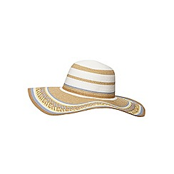 Dorothy Perkins - Lemon and biscuit floppy hat