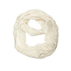 Dorothy Perkins - Cream crochet snood