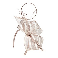 Dorothy Perkins - Nude bow two tone fascinator