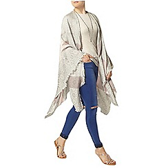 Dorothy Perkins - Cream tile print wrap