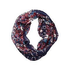 Dorothy Perkins - Navy creeping floral snood