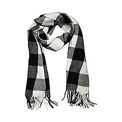 Dorothy Perkins - Mono gingham check scarf