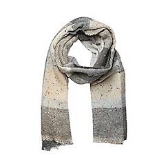 Dorothy Perkins - Cream neppy check scarf
