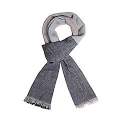 Dorothy Perkins - Navy oversize check scarf
