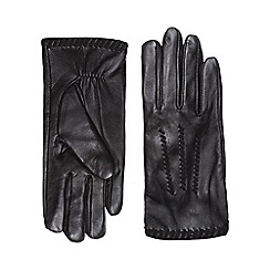 Dorothy Perkins - Black whipstich leather gloves