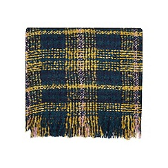 Dorothy Perkins - Yellow tweed boucle scarf