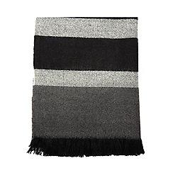 Dorothy Perkins - Grey bold stripe scarf