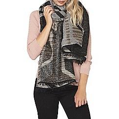Dorothy Perkins - Mono geo print scarf