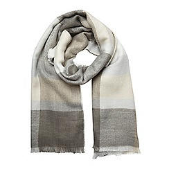 Dorothy Perkins - Cream check scarf
