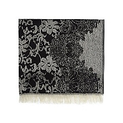 Dorothy Perkins - Mono lace blanket scarf