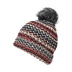 Dorothy Perkins - Rainbow knitted beanie hat