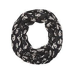 Dorothy Perkins - Black swan print snood