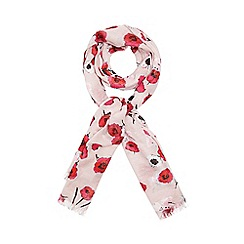 Dorothy Perkins - Pink falling rose scarf