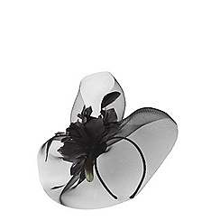Dorothy Perkins - Black flower fascinator