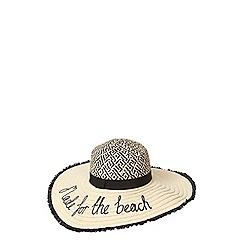 Dorothy Perkins - Slogan floppy hat