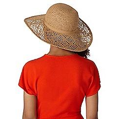 Dorothy Perkins - Biscuit lead floppy hat
