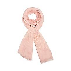 Dorothy Perkins - Pink heart mesh scarf