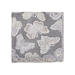 Dorothy Perkins - Butterfly jacquard scarf
