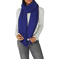 Dorothy Perkins - Violet pleated scarf
