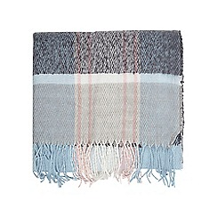 Dorothy Perkins - Icy blue tartan checked scarf
