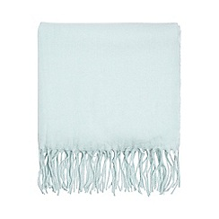 Dorothy Perkins - Mint fluffy plain scarf