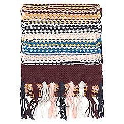Dorothy Perkins - Multi coloured meadow stitch scarf