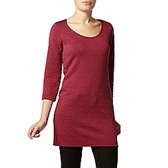 Dorothy Perkins - Billie and blossom berry stretch jacquard patterned tunic