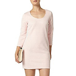 Dorothy Perkins - Billie and blossom blush jacquard tunic