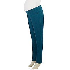 Dorothy Perkins - Maternity teal jegging