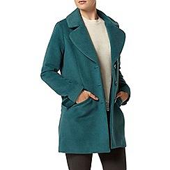 Dorothy Perkins - Luxe blue boyfriend coat