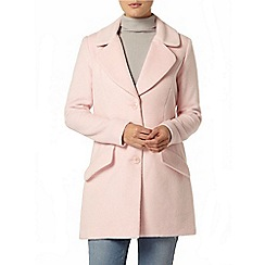 Dorothy Perkins - Luxe blush boyfriend coat