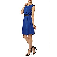 Dorothy Perkins - Billie black label cobalt blue embellished waist dress
