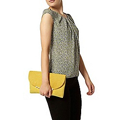 Dorothy Perkins - Billie and blossom lime leaf print shell top