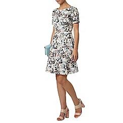 Dorothy Perkins - Billie petites blue vintage rose dress