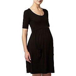 Dorothy Perkins - Maternity black pocket dress