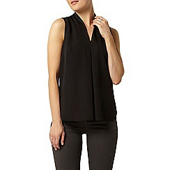 Dorothy Perkins - Luxe black v neck blouse