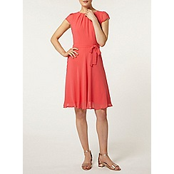 Dorothy Perkins - Billie and blossom watermelon chiffon dress