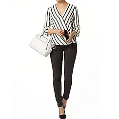 Dorothy Perkins - Billie black label mono stripe blouse