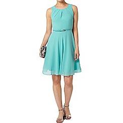 Dorothy Perkins - Bille and blossom green chiffon dress