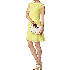 Dorothy Perkins - Billie and blossom yellow chiffon dress