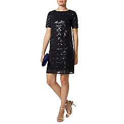 Dorothy Perkins - Luxe navy sequin dress